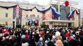 Het nieuwe thuis voor de Scientology kerk van Moskou werd ingewijd voor de meer dan 2.000 scientologen, Russische regeringsbeambtes, religieuze leiders en hoogwaardigheidsbekleders van Mensenrechtenorganisaties. De ceremonies markeerden de opening van de eerste grote Scientology Kerk in de Russische Federatie.